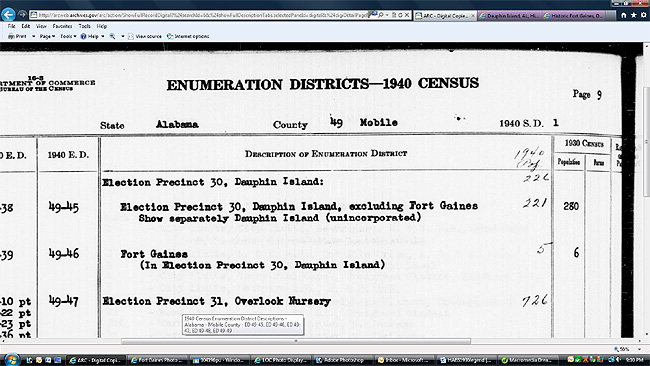 Enlargement of Census page