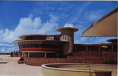 Isle Dauphine Club, 1960's postcard